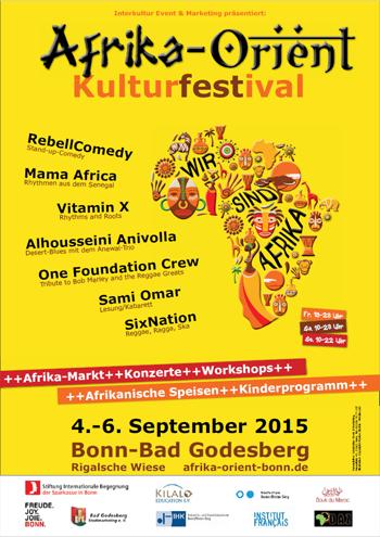 Afrika-Orient Kulturfestival 2015