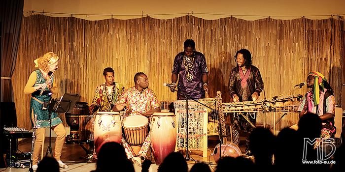 Trommelworkshop mit Pape Samory Seck